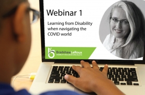 Webinar 1: Learning for Disability when navigating the COVID-19 world (free) – 30-minute session