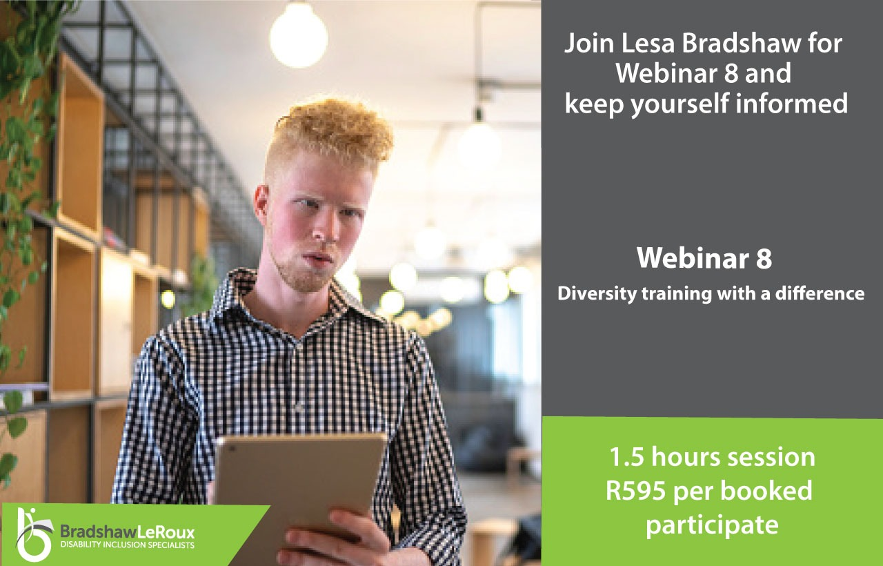 Webinar 8: Diversity training with a difference