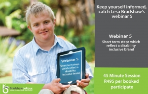 Webinar 5: Short term steps which reflect a disability-inclusive brand